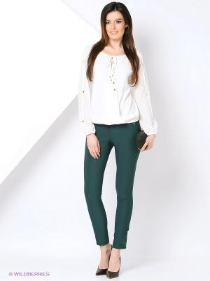Блузка La Chere. Цвет: белый
