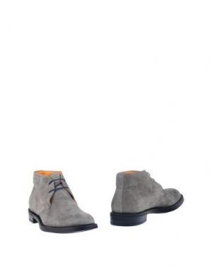 Полусапоги и высокие ботинки DOMENICO TAGLIENTE. Цвет: серый