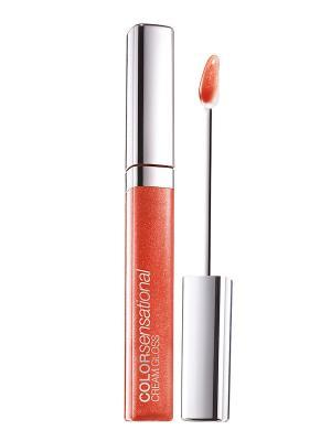 Блеск для губ Color Sensational, Роскошный цвет, оттенок 460, Мандариновый леденец, 6,8 мл Maybelline New York. Цвет: персиковый