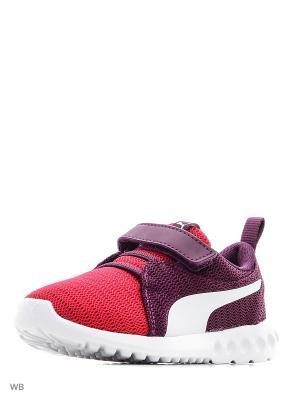 Кроссовки Carson 2 V PS PUMA. Цвет: малиновый, фиолетовый