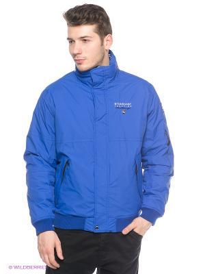 Куртка Stonecast. Цвет: синий