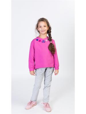 Свитшот ETE CHILDREN. Цвет: фиолетовый