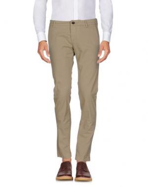 Повседневные брюки ROŸ ROGER'S. Цвет: песочный