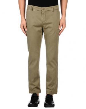 Повседневные брюки ROŸ ROGER'S. Цвет: зеленый-милитари