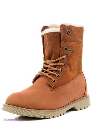 Ботинки Crosby. Цвет: оранжевый