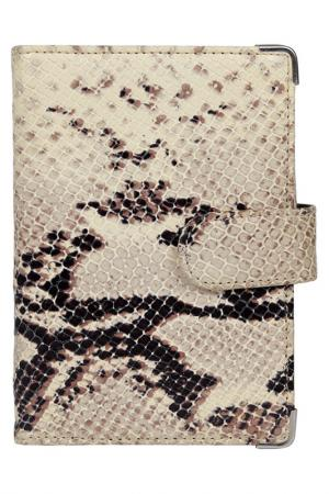 Обложка для документов Leo Ventoni. Цвет: бежевый