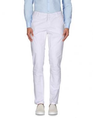 Повседневные брюки HAVANA & CO.. Цвет: белый
