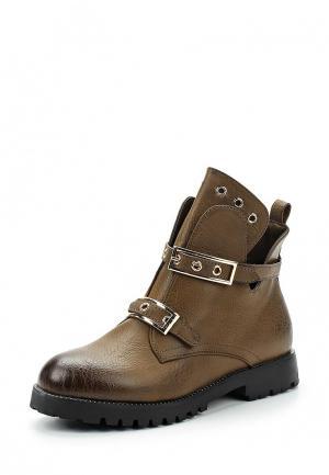 Ботинки Saivvila. Цвет: коричневый