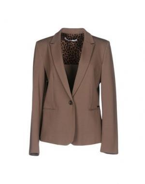Пиджак X'S MILANO. Цвет: голубиный серый