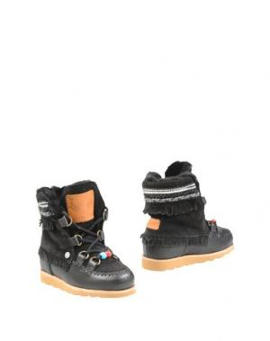 Полусапоги и высокие ботинки DOLFIE. Цвет: черный