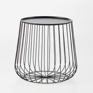 Столик из металлической проволоки , Cage AM.PM.. Цвет: золотистый,черный