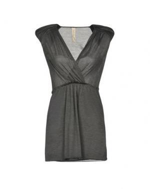 Короткое платье COAST WEBER & AHAUS. Цвет: голубиный серый