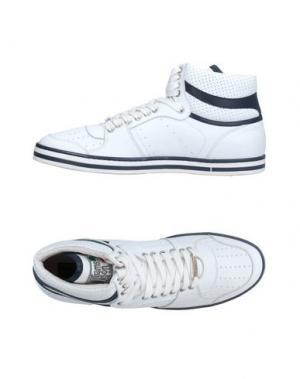 Высокие кеды и кроссовки WILLIAMS WILSON. Цвет: белый