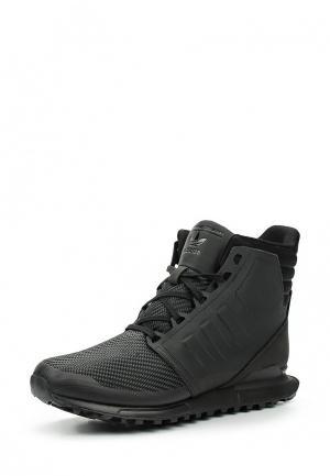 Ботинки adidas Originals. Цвет: черный