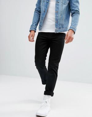 Waven Черные джинсы узкого кроя. Цвет: черный