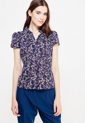Блуза oodji. Цвет: синий