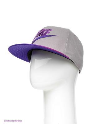 Бейсболка Nike. Цвет: серый, фиолетовый, розовый
