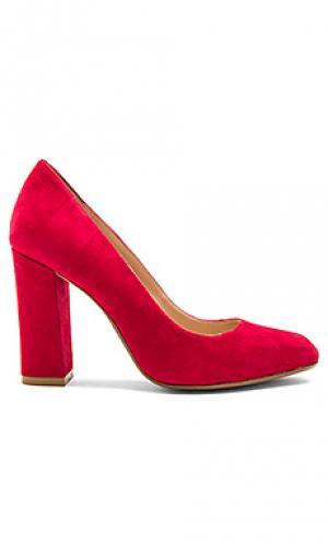 Туфли на каблуке gwen RAYE. Цвет: красный