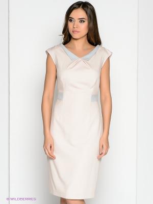 Платье DEVORE. Цвет: кремовый