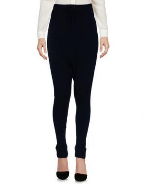 Повседневные брюки CUCÙ LAB. Цвет: темно-синий