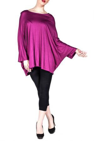 Блуза Exline. Цвет: фиолетовый