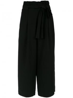 High waist belted trousers Olympiah. Цвет: чёрный