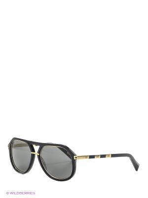 Солнцезащитные очки BLD 1625 101 Baldinini. Цвет: темно-серый, золотистый, черный
