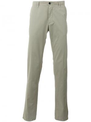 Классические брюки чинос CP Company. Цвет: зелёный