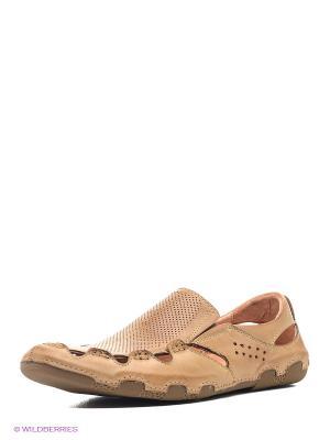 Ботинки Ridlstep. Цвет: светло-коричневый