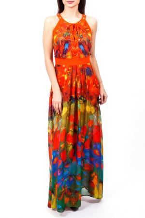 Платье Angelo Marani. Цвет: мультицвет