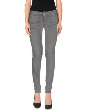 Джинсовые брюки JCOLOR. Цвет: серый