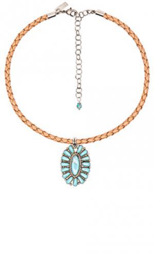 Чокер sun goddess Natalie B Jewelry. Цвет: цвет загара
