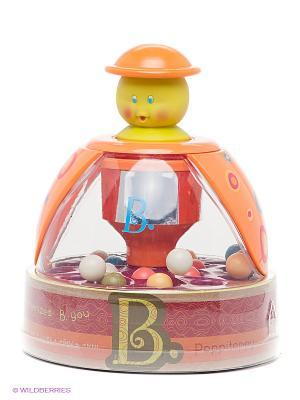 Юла Прыгающие шарики Battat. Цвет: оранжевый