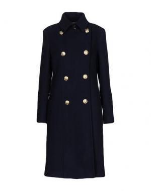 Пальто TENAX. Цвет: темно-синий