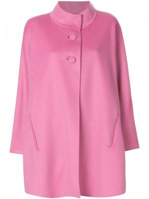 Короткое пальто Iris Von Arnim. Цвет: розовый и фиолетовый