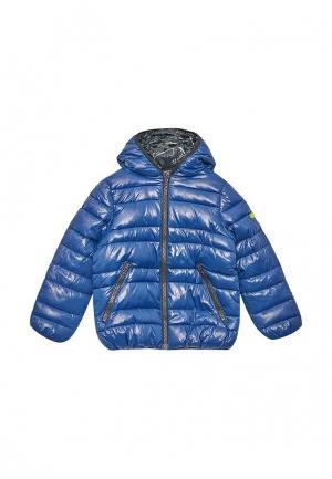Куртка утепленная Sisley. Цвет: разноцветный