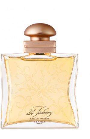 Парфюмерная вода 24 Faubourg Hermès. Цвет: бесцветный