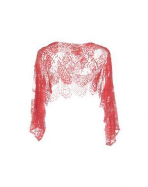 Блузка SONIA FORTUNA. Цвет: красный