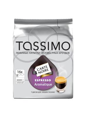 Капсулы T-диски Tassimo Carte Noire Espresso Aromatique, 16 порций. Цвет: белый