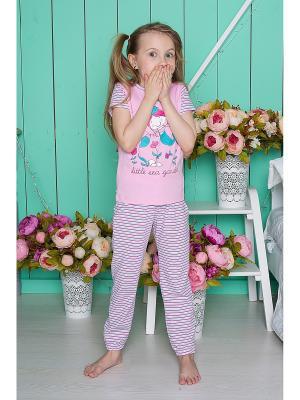 Комплект одежды Sweet Berry. Цвет: розовый