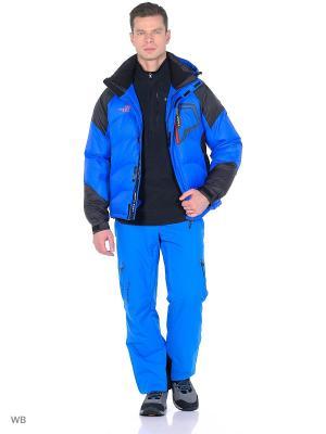 Куртка Think Pace. Цвет: синий, черный