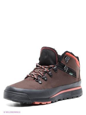 Ботинки Element. Цвет: коричневый, черный
