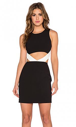 Платье lifestyle NBD. Цвет: черный