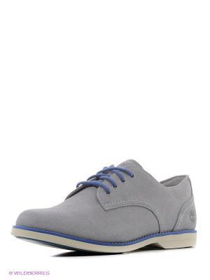 Туфли TIMBERLAND. Цвет: серый