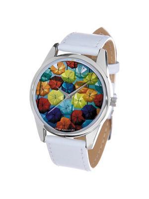 Часы Mitya Veselkov. Цвет: красный, синий, зеленый