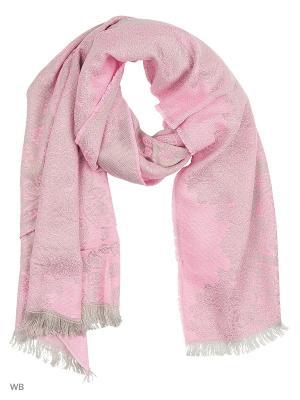 Палантин Vita pelle. Цвет: розовый, серый