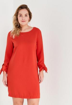 Платье Violeta by Mango. Цвет: красный