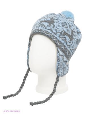 Шапка Scandica. Цвет: голубой, серый