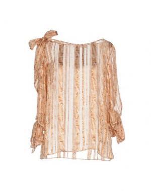 Блузка KRISTINA TI. Цвет: пастельно-розовый