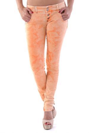 Джинсы Sexy Woman. Цвет: оранжевый